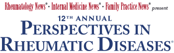 Welcome to the 12th Annual Perspectives in Rheumatic Diseases